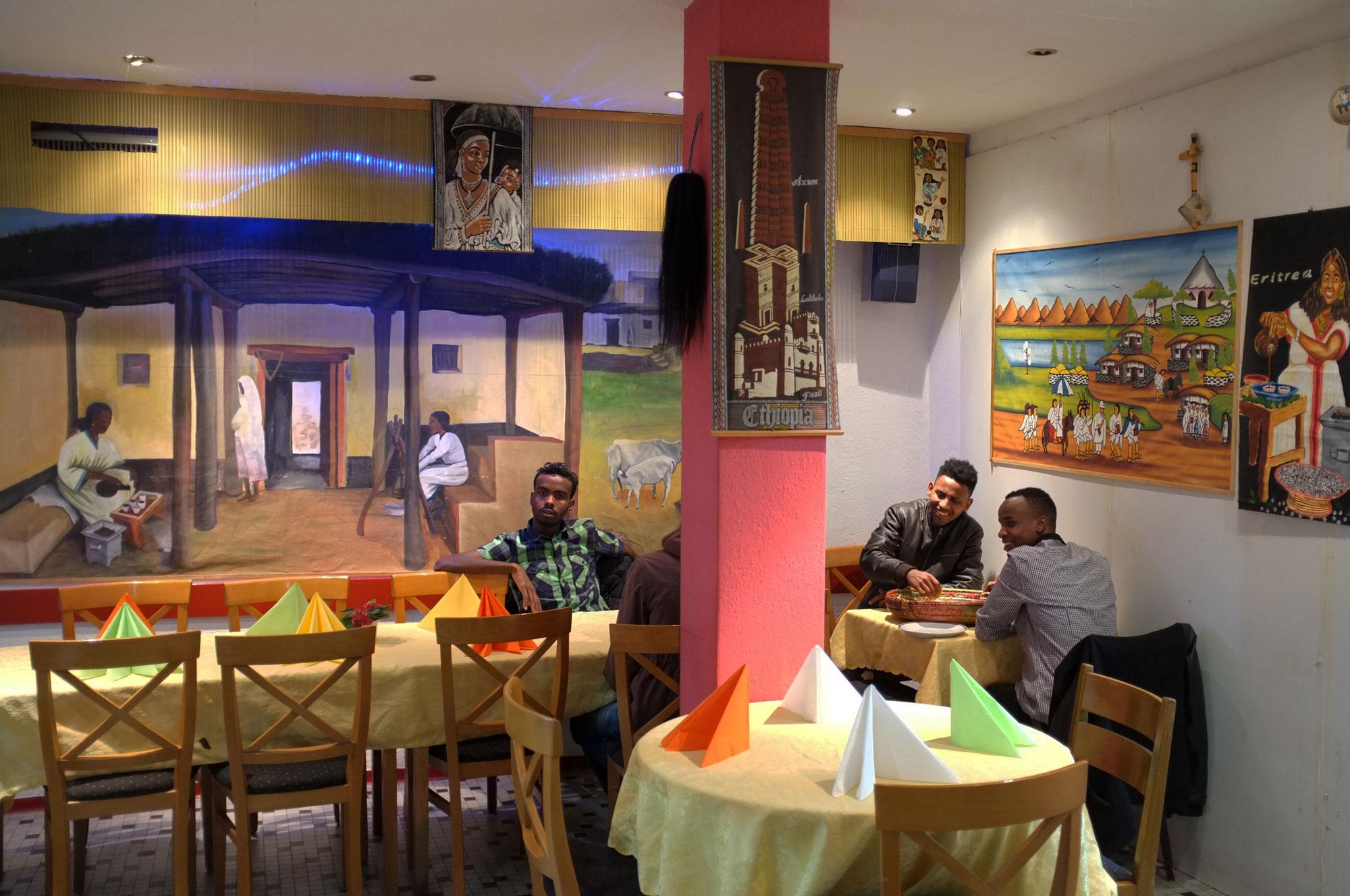 Habesha restaurant gast